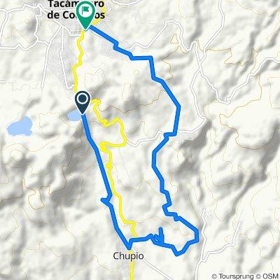 Relaxed route in Tacámbaro de Codallos