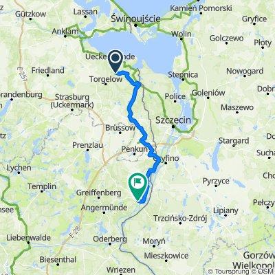 Uckermünde - Schwedt/Oder