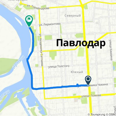 Easy ride in Павлодар