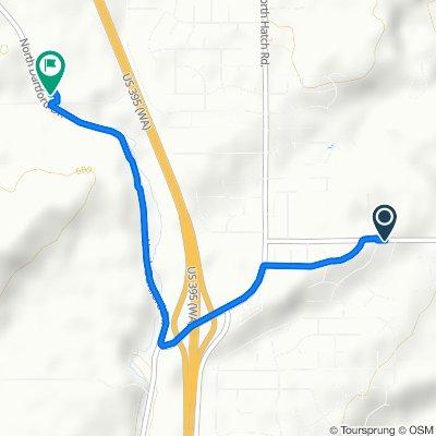 16622 N Morton Dr, Spokane to 306 W Ballard Rd, Colbert