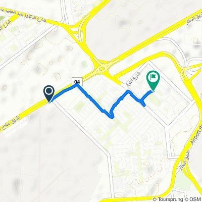 Restful route in Al Nozha