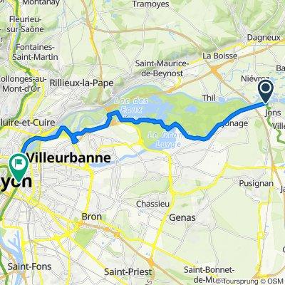 9: ViaRhôna de Jons à Lyon