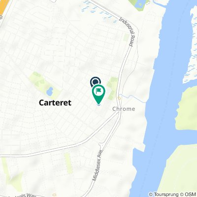Steady ride in Carteret