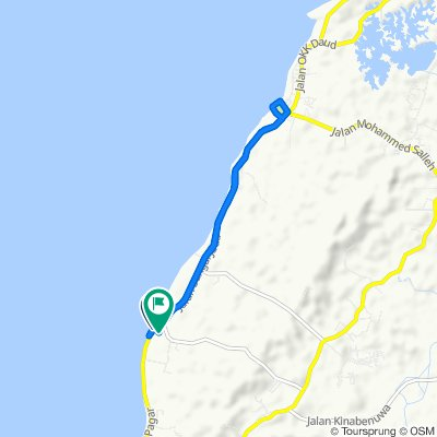 Sporty route in Pulau Labuan
