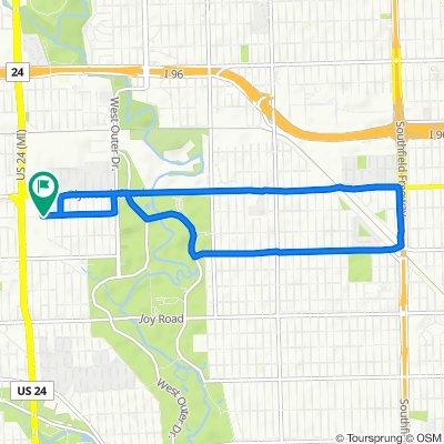 10053 Appleton, Redford to 10053 Appleton, Redford