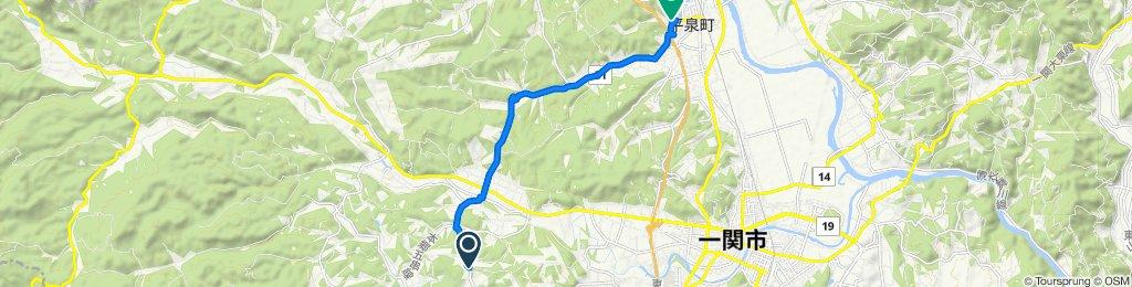 Sōgo, Ichinoseki to Ōsawa, Hiraizumi
