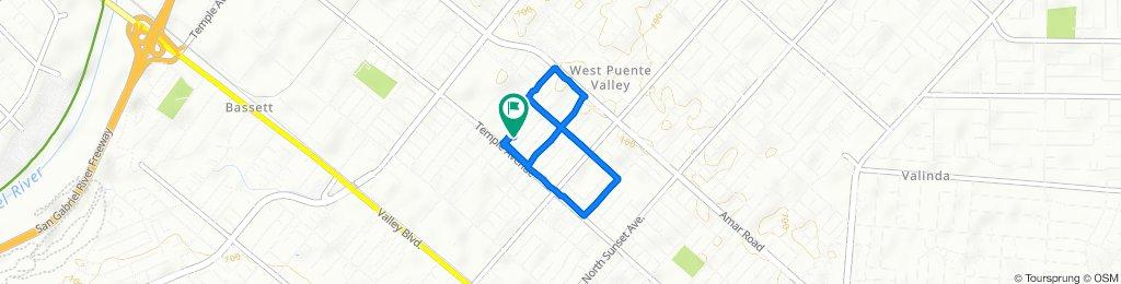Easy ride in La Puente