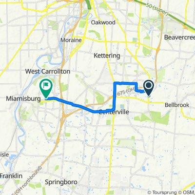 6280 Wilmington Pike, Dayton to 20 N Gebhart Church Rd, Miamisburg