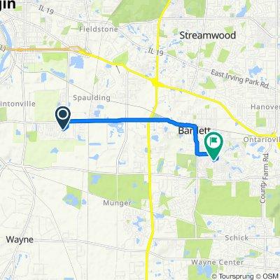 1823–1899 Westridge Blvd, Bartlett to 802 Prairie Ave, Bartlett
