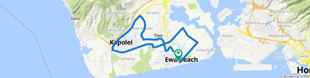Makule Road 91-839, Ewa Beach to Aikanaka Road 91-829, Ewa Beach