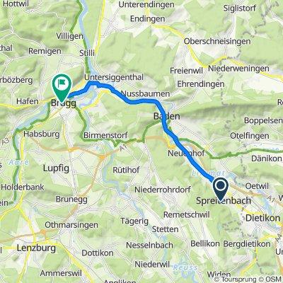 Althauweg 5, Spreitenbach nach Bahnhofstrasse 5, Brugg AG
