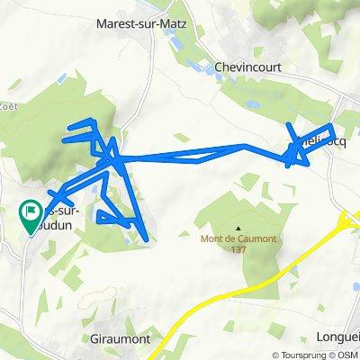 Easy ride in Villers-sur-Coudun