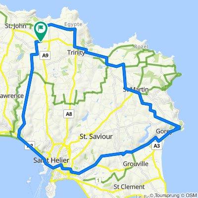 St John > Gorey >Town circular