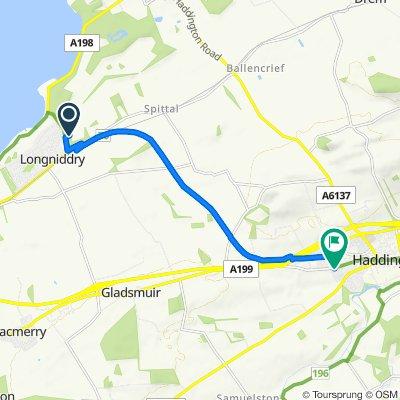 Moderate route in Haddington