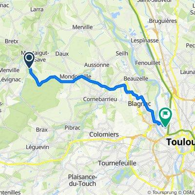 Itinéraire modéré en Toulouse