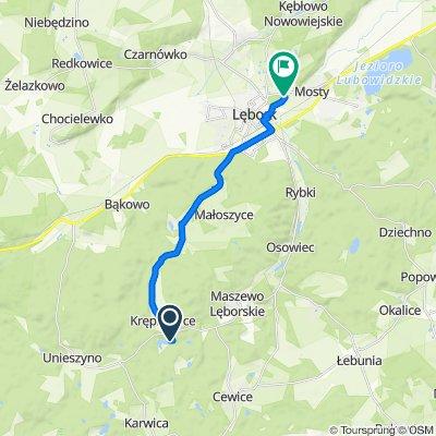 Steady ride in Lębork