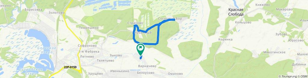 Restful route in Краснослободский