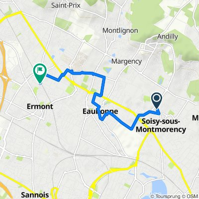Relaxed route in Ermont