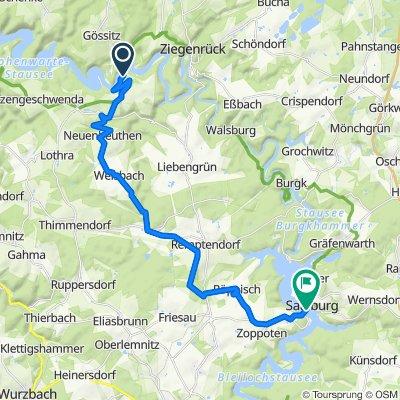Altenroth 32–35, Altenbeuthen nach Markt 73, Saalburg-Ebersdorf