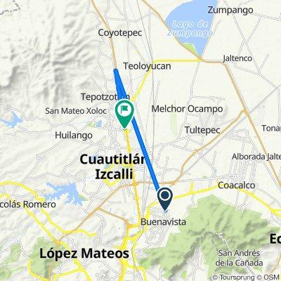 De Corregidora 6, Buenavista a Autopista Querétaro - México 473, Cuautitlán Izcalli