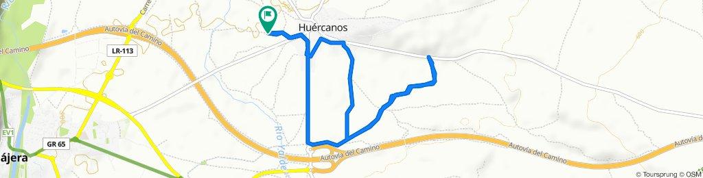 De Camino de la Cerrada, Huércanos a Camino de la Cerrada, Huércanos