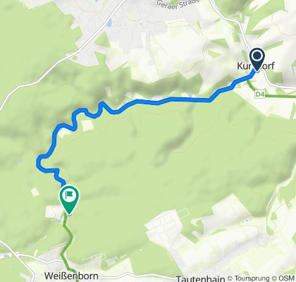 Mühltalsweg 17, Eisenberg nach Mühltal 12, Weißenborn