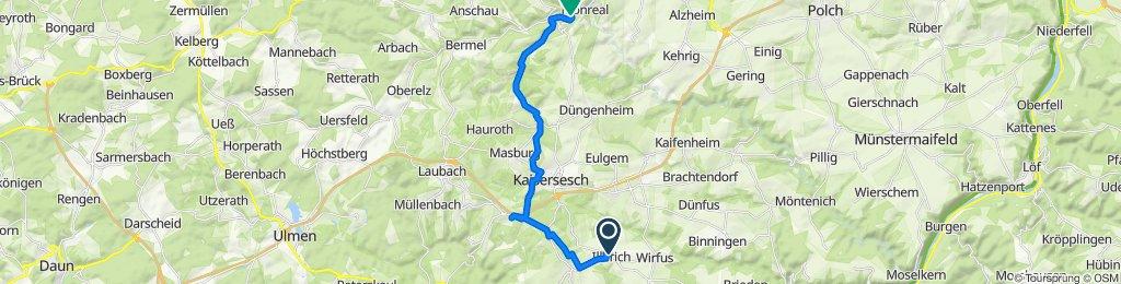 Kaisersescher Straße 15, Illerich nach Am Bahnhof 5, Monreal