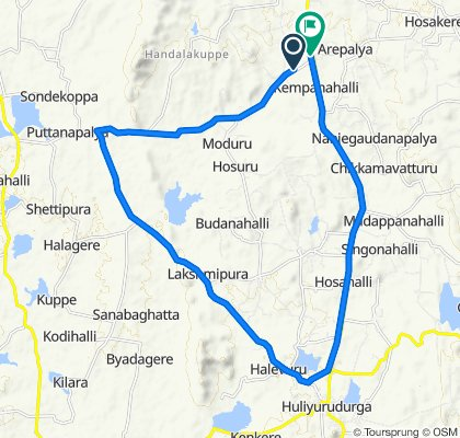 Steady ride in Tumkur