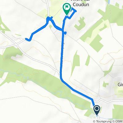 Steady ride in Coudun