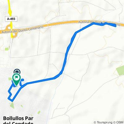Paseo rápido en Bollullos par del Condado
