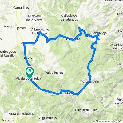 Ruta circular Alcalá de la Selva