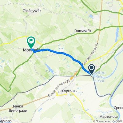 Dugonyi utca 2, Röszke to Móra Ferenc utca 8, Mórahalom