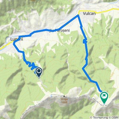 Straja - Lupeni -  Vulcan - Pasul Vâlcan