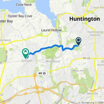 Steady ride in Huntington