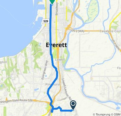 3725 91st St SE, Everett to 1321 Colby Ave, Everett