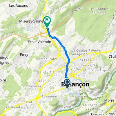 Besançon - Miserey Salines