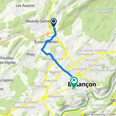 Miserey Saline - Besançon
