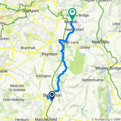 Bollington to Marple