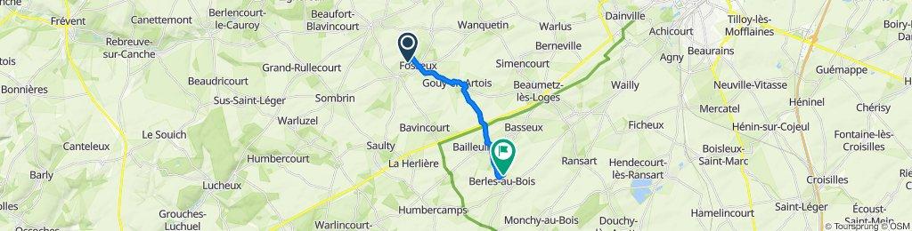 De Rue du Bois, Barly à 5 Rue de l'Abbé Thibault, Berles-au-Bois