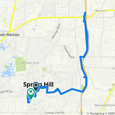 Blistering ride in Spring Hill