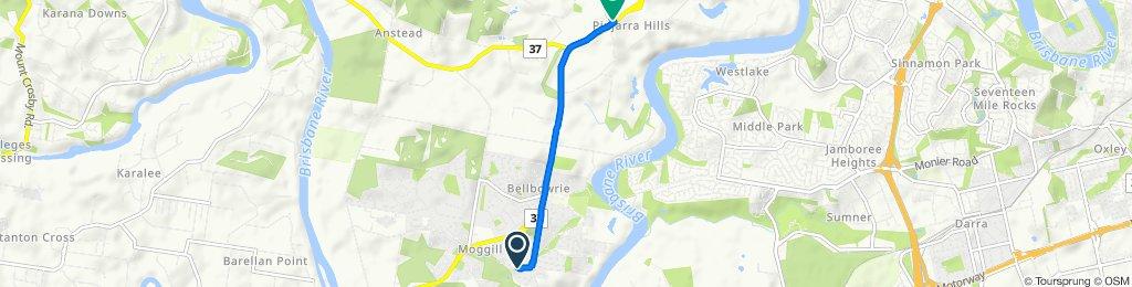 Beaufort Crescent 110, Moggill to Grandview Road 8, Pinjarra Hills