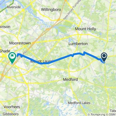 2075 US-206, Southampton to 350 Century Pkwy, Mount Laurel