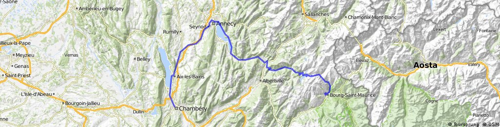 Tour de France 2011 - Etappe 14 - Chambery - Bourg-Saint-Maurice