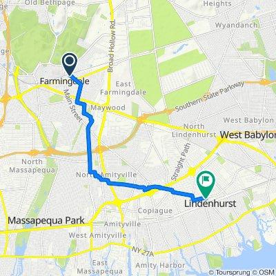 Easy ride in Lindenhurst