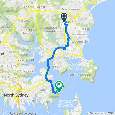 Old Pittwater Road 37A, Brookvale to Chowder Bay Road, Mosman