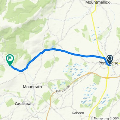 New Road, Portlaoise nach R440, Mountrath