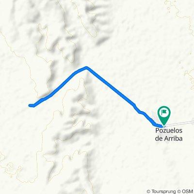 Moderate route in Monclova