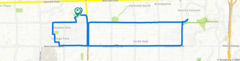 Steady ride in Glendale
