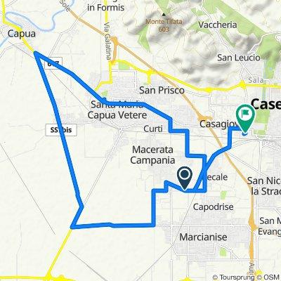 Moderate route in Macerata Campania