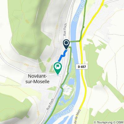 Itinéraire modéré en Novéant-sur-Moselle